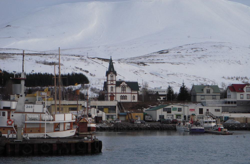 Husavik waterfront