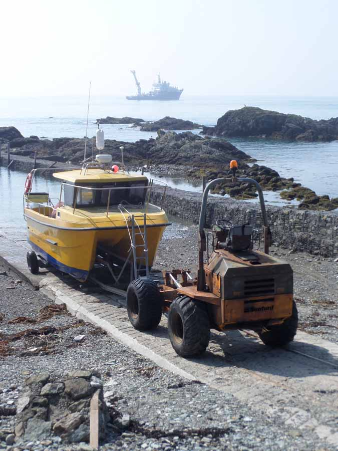 The Bardsey ferry