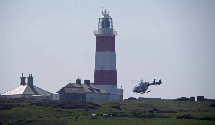 Bardsey lighthouse