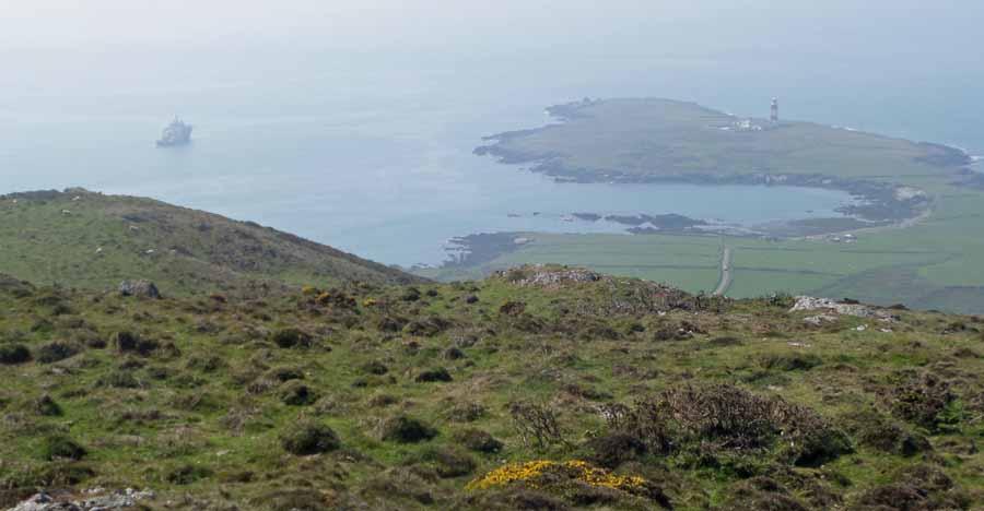 View from Mynydd Ennli